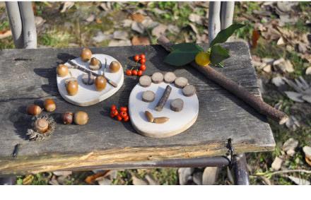 原っぱアトリエ「小枝や木の実を使って壁掛け作り」