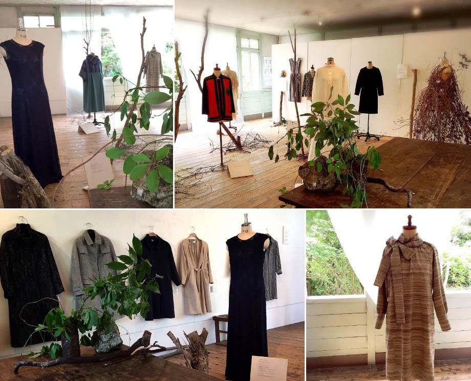 星ヶ丘洋裁学校70周年展示「根っこ Root」